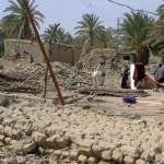 Entire villages in and near Awaran district have been reduced to piles of debris after a 7.7-magnitude earthquake struck Pakistan's Balochistan Province on 24 September 2013.  (Photo by Islamic Relief via IRIN)