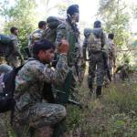 Indian troops participating in an operation. (Photo by Manob Chowdhury via The Hindu)