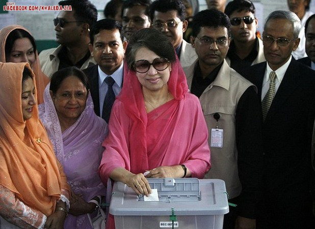 Begum Khaleda Zia, Chairperson of Bangladesh Nationalist Party. (Photo by Jingo of Bangladesh, Creative Commons License)