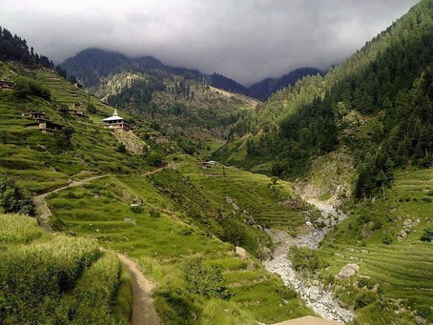 A view of a valley in mountainous Dir region of Khyber Pakhtoonkhwa province. (Photo by Junaid Rao)