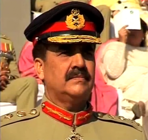 New chief of Pakistan's army General Raheel Sharif.