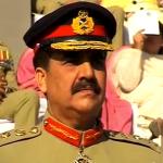 New chief of Pakistan's army General Raheel Sharif.