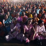 Indian voters at a BJP rally. (Photo by Al Jazeera English, Creative Commons License)