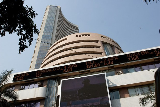 A view of Bombay Stock Exchange. (Photo by owenstache, Creative Commons License)