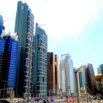 City center of Qatar's capital Doha. (Photo by dallasm12, Creative Commons License)