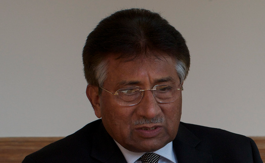 Former Pakistani military leader and president General Pervez Musharraf. (Photo by Andrew._Griffin, Creative Commons License)