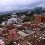 Thanks to sustained economic progress, Rwanda's capital Kigali has become a thriving city. (Photo by Graham Holliday, Creative Commons License)