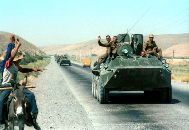 A view of Soviet troops withdrawal from Afghanistan (Photo by Socialism Expo, Creative Commons License)