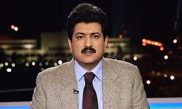 Hamid Mir survived an attempt on his life in Karachi, Pakistan.