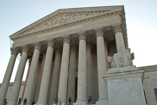 US Supreme Court building in Washington DC. (Photo by Katie Harbath, Creative Commons License)