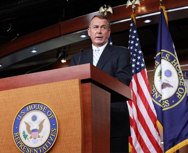 House Speaker John Boehner. (Photo by Talk Radio News Service, Creative Commons License)
