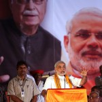 Narendra Modi is addressing an election rally during the country's landmark reaction. (Photo by Al Jazeera English, Creative Commons License)