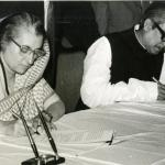 The biggest missed opportunity of the UPA government was to deliver the Land Border Agreement, first agreed to by Indira Gandhi and Sheikh Mujibur Rahman in 1974. Picture shows the two Prime Ministers signing the treaty of friendship, cooperation and peace in 1972 in Dhaka, Bangladesh. (Photo via The Hindu archives)