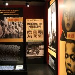 Civil right movement exhibit at the Newseum at 555 Pennsylvania Avenue, NW, Washington DC. (Photo by Elvert Barnes, Creative Commons License)