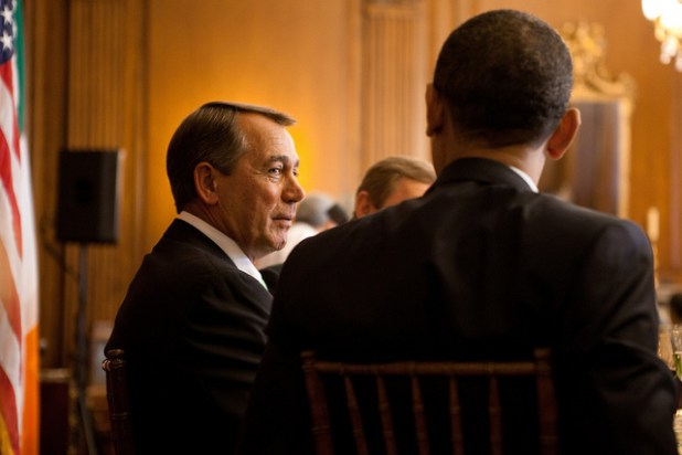 The sharp differences between President Obama and Speaker Boehner are more representative of the current state of partisanship than the idealistic view of Ronald Reagan crossing the aisle to work with Tip O'Neill in the 80s. (Photo via Speaker John Boehner, Creative Commons License)