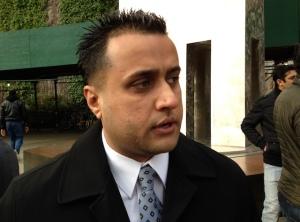 Detective Amjad Khan. (Photo by ViewsWeek)