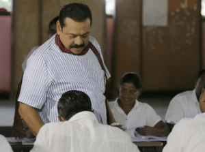 Former President Rajapaksa called for elections full 16 months ahead of schedule.