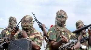 Boko Haram fighters. (Photo via The Advocate, Nigeria)