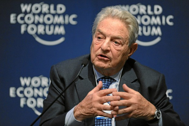 George Soros speaking at the World Economic Forum in Davos. (Photo by World Economic Forum, Creative Commons License)