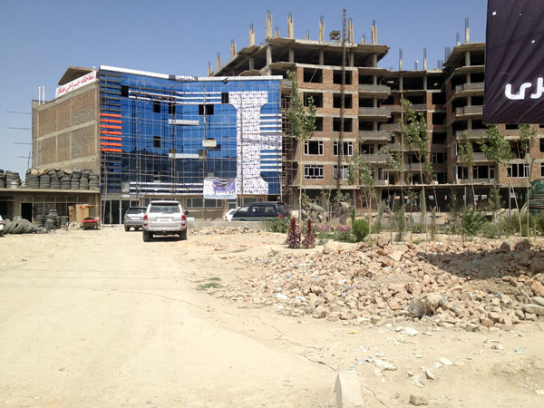 Hamkar Plastic Surgery Hospital, Kabul.  (Photo by Ali Latifi, via Himal Southasian)