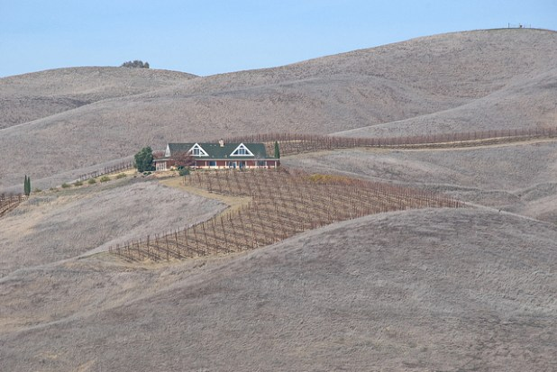 A parched farm in drought-hit California. (Photo by  John Weiss, Creative Common License)