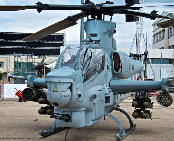 Pakistan needs attack platforms like  Bell AH-1Z Vipe in its war against Taliban. (Photo by Mario Sainz Martíne, CC License)