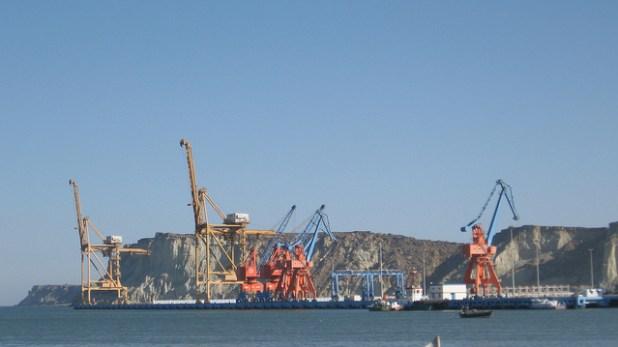 Gwadar Port. (Photo by Moign Khawaja, Creative Commons License)