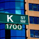 Washington's K Street, famous for think tanks and lobbyists and advocacy groups. (Photo by Glyn Lowe, Creative Commons License)