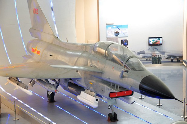 Iran is the second country after Pakistan that will receive the J-10 Fighters. (Photo by Patrick He, Creative Commons License)