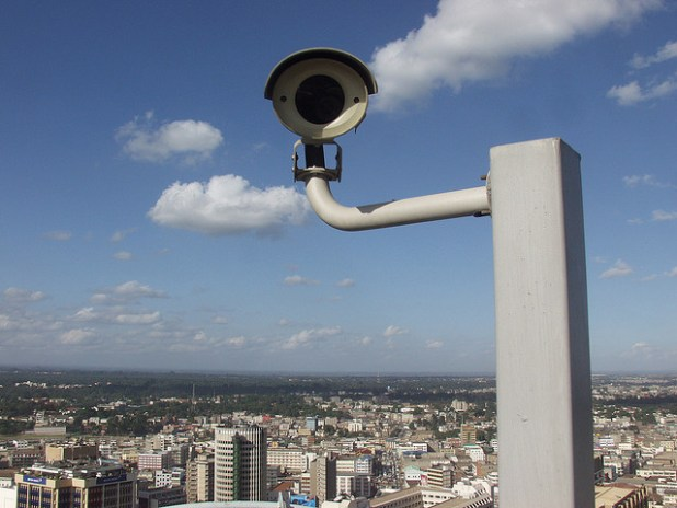 Big Brother is still watching you in Nairobi, Africa. (Photo by rogiro, Creative Commons License)