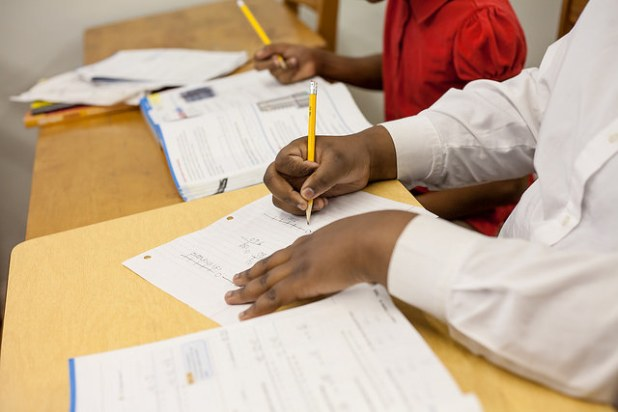 Why should schools need to moderate testing? (Photo by Innisfree Hotels, Creative Commons License)