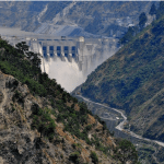 The Baglihar dam has been built on river Chenab.  Photo by Surendra Pradhan  	  via ICIMOD]