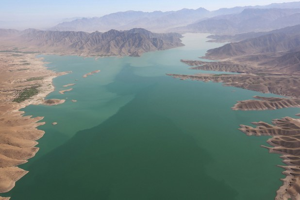 The Kajaki dam in Helmand Province, Afghanistan, on Saturday, March 9, 2013.(Photo by Musadeq Sadeq/U.S. State Department, Creative Commons License)