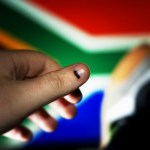 Inked after voting in South Africa's 4th democratic elections. (Photo by Darryn van der Walt, Creative Commons License)