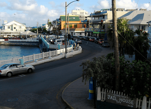 George Town, Grand Cayman. (Photo by PC Ward, Creative Commons License)
