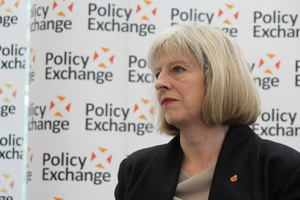 Theresa May. (Photo by Policy Exchange, Creative Commons License)