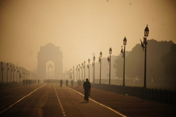 India Gate in Delhi. (Photo by Rajesh_India, Creative Commons License)