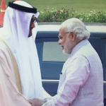 Relations between India and UAE have improved dramatically during the past few years. (Photo via video stream)