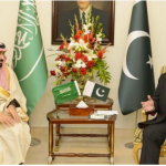 File photo of Pakistan's Prime Minister Nawaz Sharif meeting with Saudi Deputy Crown Prince Prince Mohammad Bin Salman in Islamabad in January 2016. (Photo via video stream)
