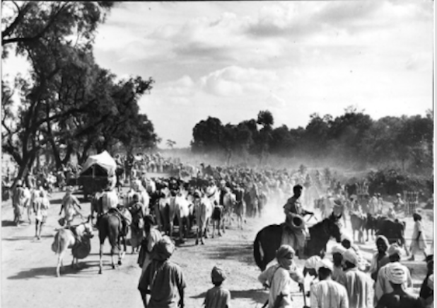 The partition displaced 15 million people while more than a million died in the ensuing violence. (Photo via The Tribune)