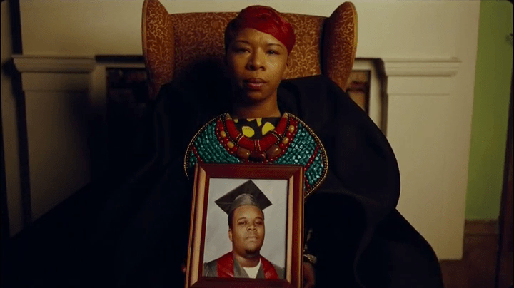 Michael Brown's mother, Lezley McSpadden.