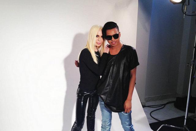 Jay Strut Donatella Versace