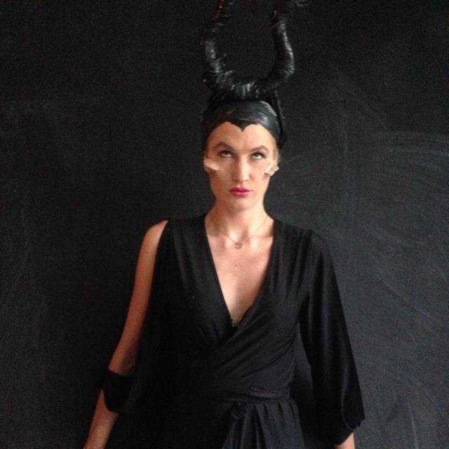 DIY Halloween Costume Maleficent