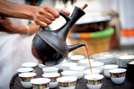 Ethiopian coffee, Image: auxmrestaurant.com