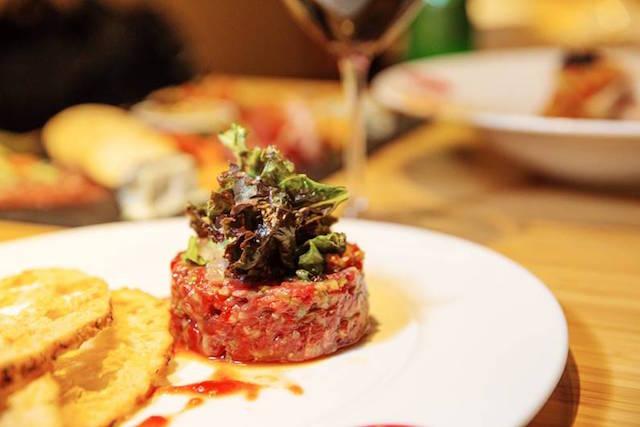 Steak tartar (Image: Nick Lee)