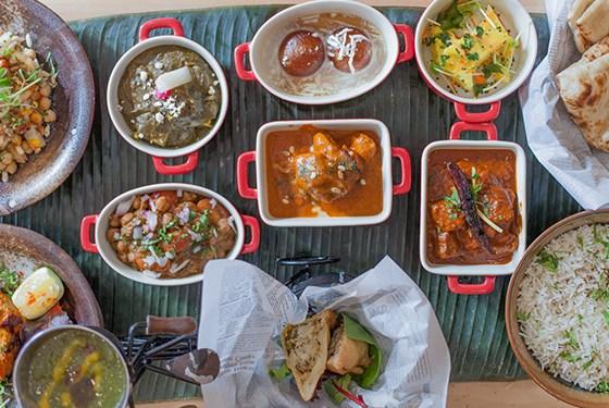 Leela indian food