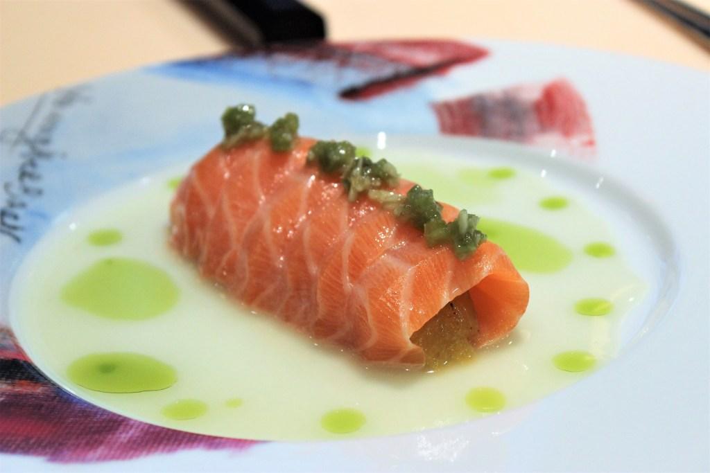 Salmon Tariadito