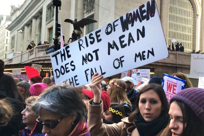 Women's March Sign
