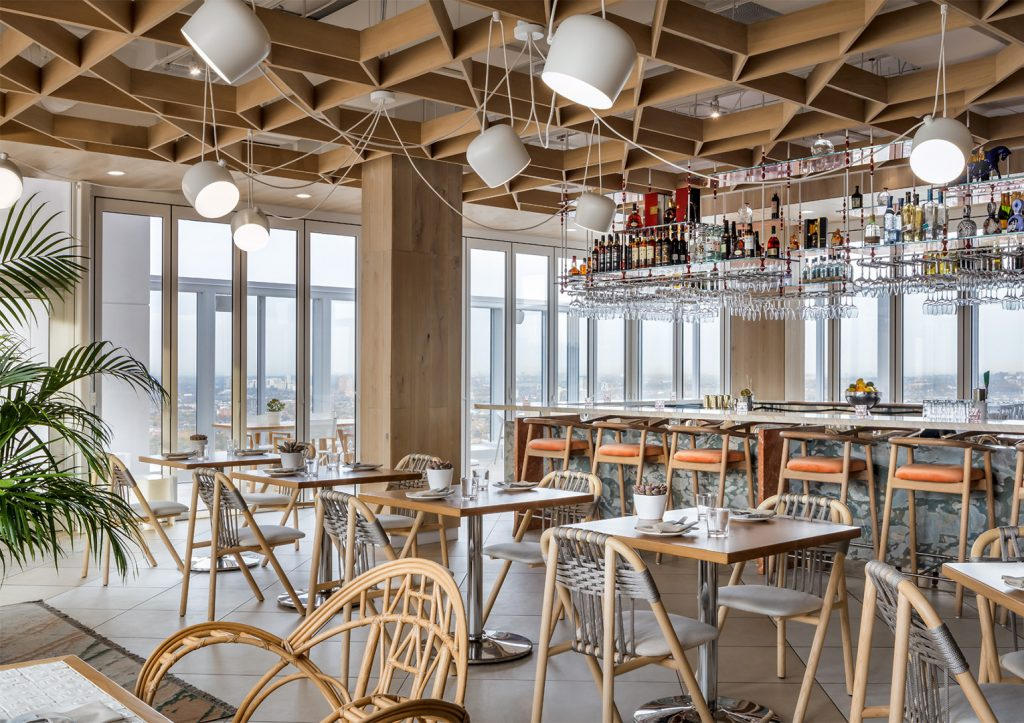 Toronto's Best Patio Guide - Kost Toronto 44th Floor