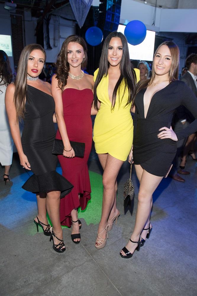 Amber Bernachi, Alyssa Bolton, Camilla Gonzalez + Natalia Rios / Photo: Ryan Emberley